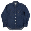 Western Shirt 8oz Indigo Denim OW