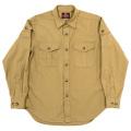 W&G Shirt Beige Poplin