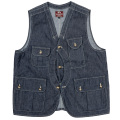 W&G Vest 6oz Denim