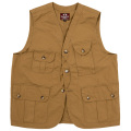 W&G Vest High Density Poplin Coyote