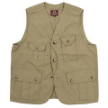 W&G Vest High Density Poplin Olive