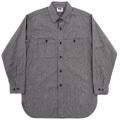 Work Shirt Vintage Fit 5oz Black Covert