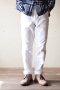 WORKERS Baker Pants Slim Pure White-1