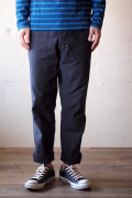 WORKERS Baker Pants Slim Reversed Sateen Black-1