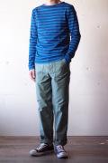 WORKERS Baker Pants Slim Fit Reversed Sateen Light OD-1