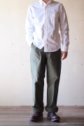 WORKERS Baker Pants Standard Fit Reversed Sateen OD-1