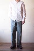 WORKERS Baker Pants Standard Fit Reversed Sateen Sage Green-1