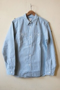 WORKERS K&TH Basic 2pkt Work, Blue Chambray-1