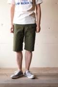 WORKERS Battledress Cruiser Shorts, Olive-1