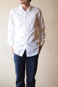 WORKERS BB Button Down Shirt White-1