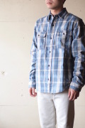 WORKERS Big Work Shirt Flannel-1