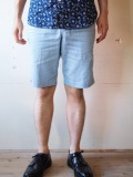 WORKERS Buckle Back Shorts, Cotton Linen