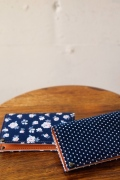 WORKERS Card Case, Polka / Floral-1