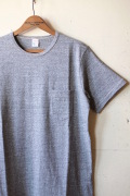 WORKERS Crew Neck Pocket Tee Grey-1