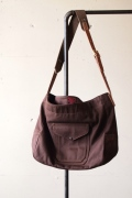 WORKERS Cruiser Shoulder Bag Brown-1