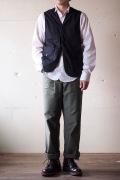 WORKERS Cruiser Vest Cotton Ripstop Black-1