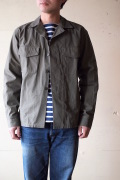 WORKERS Fatigue Shirt Cotton×Cordura Nylon Ripstop OD-1