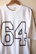 WORKERS Football Tee 64 White-1