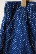 WORKERS Indigo Shorts Star Dot-Main