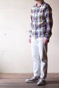 WORKERS Lot.802 Slim Tapered Pique White-1