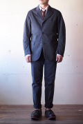 WORKERS Lounge JKT Cotton Serge Grey-1