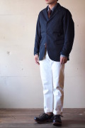 WORKERS Lounge JKT Navy Chino-1