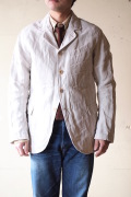 WORKERS Lt. Creole JKT Cotton×Linen Stripe-1