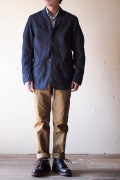 WORKERS Lt. Cruiser JKT 6oz Denim-1