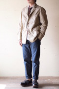 WORKERS Lt. Cruiser JKT Cotton×Linen Twill Beige-1