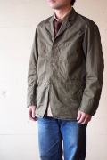 WORKERS Lt. Cruiser JKT Cotton×Linen Twill Olive-1
