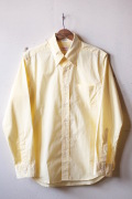 WORKERS Lt. Modified BD Yellow Check Poplin-1