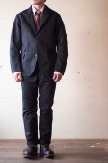 WORKERS Maple Leaf JKT Double Cloth Black-1