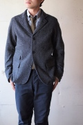 WORKERS Maple Leaf JKT, Homespun Tweed, Grey-1