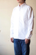 WORKERS Modified BD Shirt 6.5oz D-OX White-1