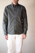 WORKERS Modified BD Shirt Garment Dye Olive-1
