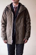 WORKERS Mountain JKT Cotton Ventile Russet-1