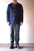 WORKERS Navy Blazer, Wool Tropical-1