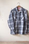 WORKERS K&TH Open Collar Shirt-Gray1