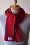 WORKERS Organic Cotton Muffler Red-1