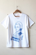 WORKERS Printed Tee Wolfgang White-1