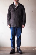 WORKERS Railroad JKT 10oz Wool Melton-1