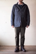 WORKERS Railroad JKT Wool Herringbone Tweed with Lining-1