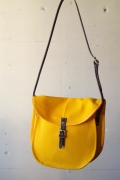WORKERS Shell Shoulder Bag, Yellow-1