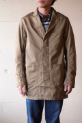 WORKERS Shop Coat 8oz Chino Beige-1