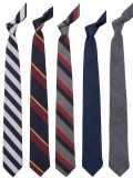 WORKERS Silk Repp Tie / Worsted Wool Tie