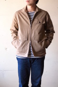 WORKERS Summer Flight JKT High Count Twill Beige-1