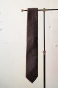 WORKERS Hand Tailored Tie, Brown Tweed-1