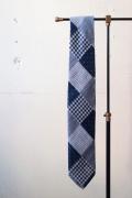 WORKERS Handtailored Tie, Double Cloth-1