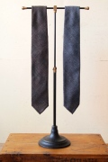 WORKERS Hand Tailored Tie, Glen Check-1
