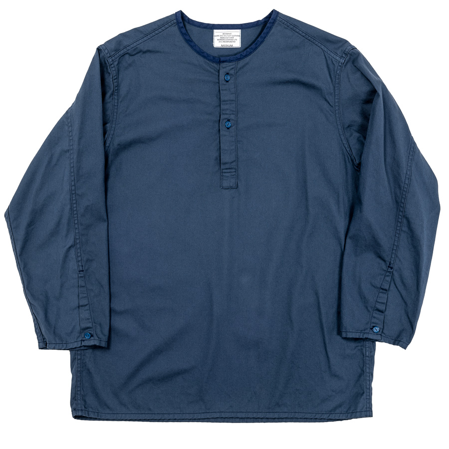 Sleeping Shirt Navy Twill